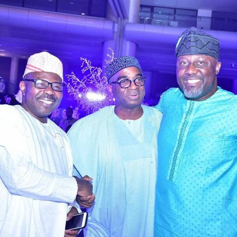 Mr. Muiz Banire; Segun Awolowo and Senator Dino Melaye