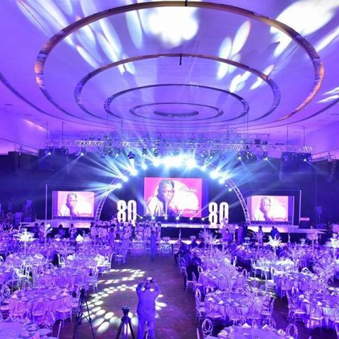 Venue decorated