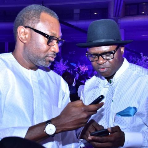 Femi Otedola and Timi Alaibe