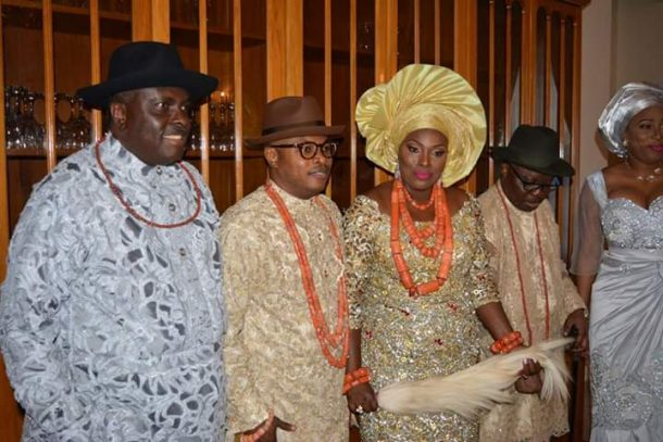 ibori's daughter weds2