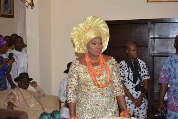 ibori's daughter weds3