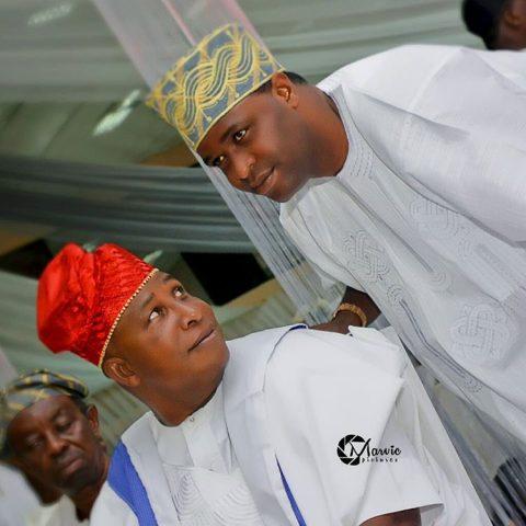 Actors, Femi Adebayo and dad, Adebayo Salami