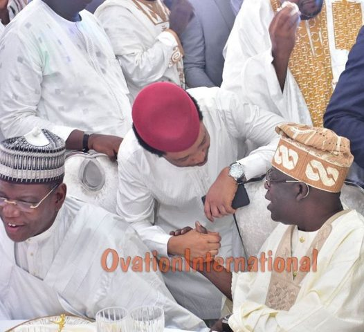 Asiwaju Bola Tinubu and other guests