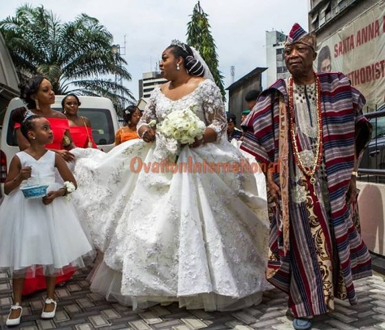 BRIDE AND DAD, ADEBUTU KESSINGTON
