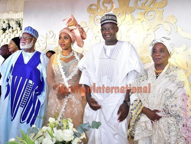 Couple and the Abdulsalami Abubakars