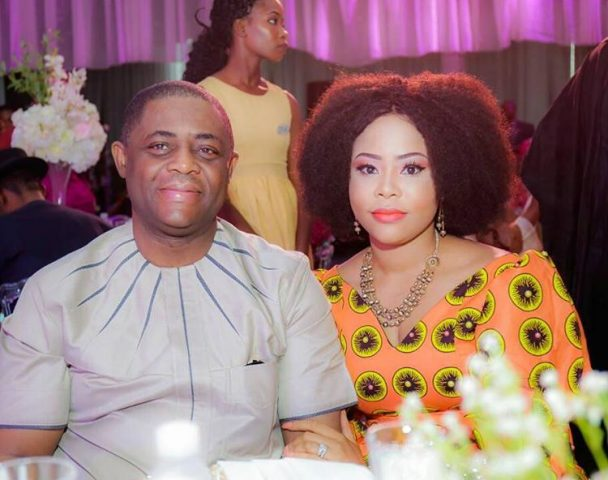 Femi Fani-Kayode and wife, Precious Chiwendu