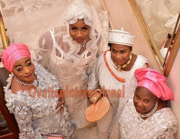 Aisha abiola wedding