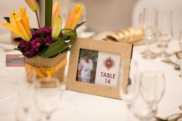 Maa Elizabeth table setting