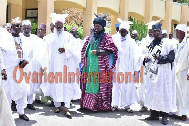 Prominent Emirs arrival