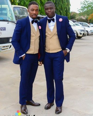 Their grooms