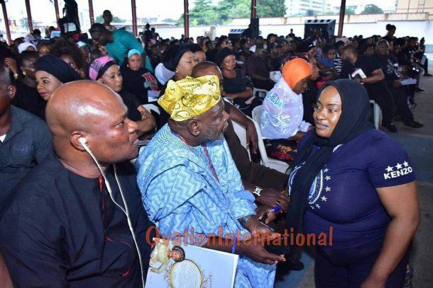 Foluke Daramola salutes veterans