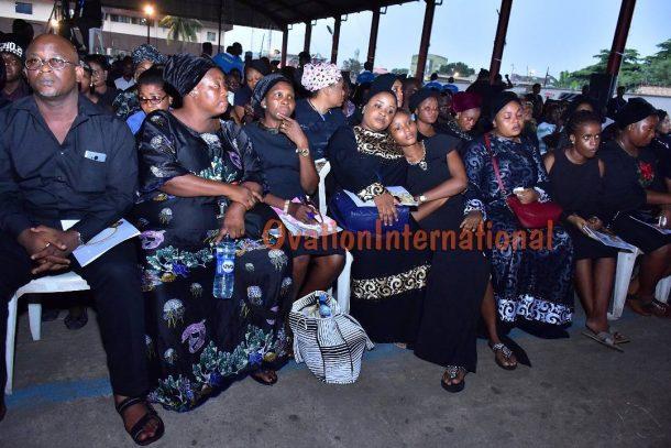 Moji Olaiya's daughter and family members