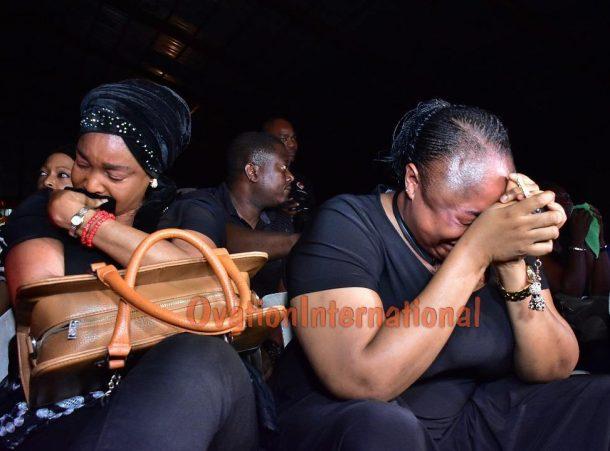 Ronke Oshodi Oke gets emotional
