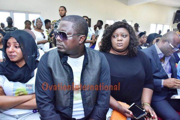 Eniola Badmus and Muyiwa Adekola