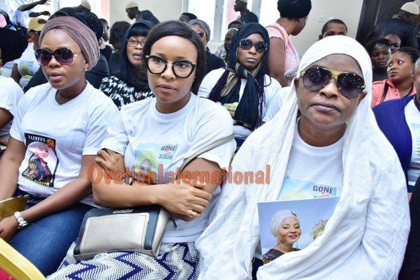L-R Liz Dasilva, Doris Simeon and Toyosi Adesanya