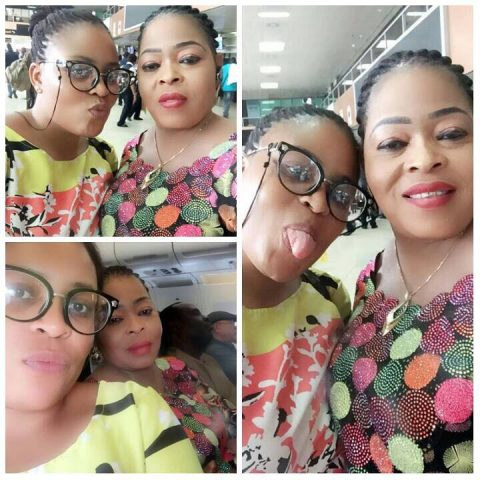Toyin Adegbola and Daughter Adeola