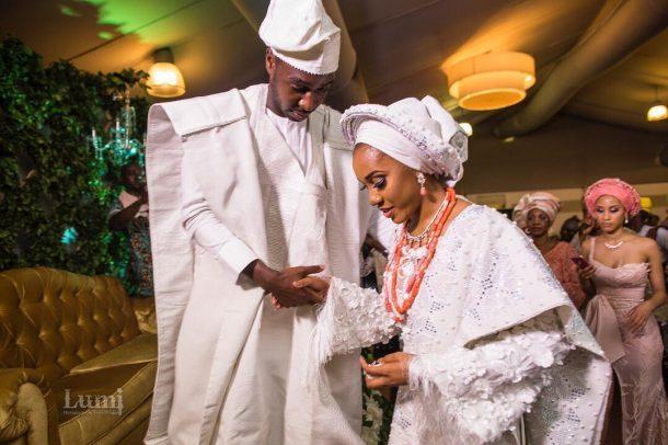 Adebayo son weds (1)