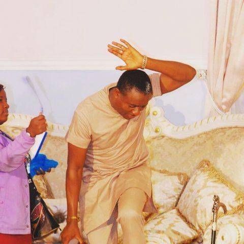 Emeka Ike on set (7)