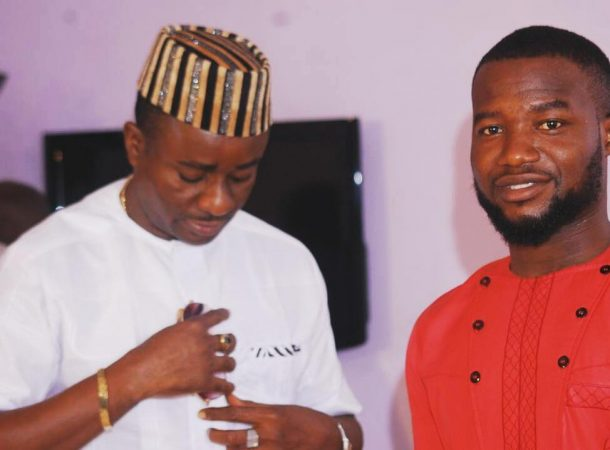 Emeka Ike on set (9)