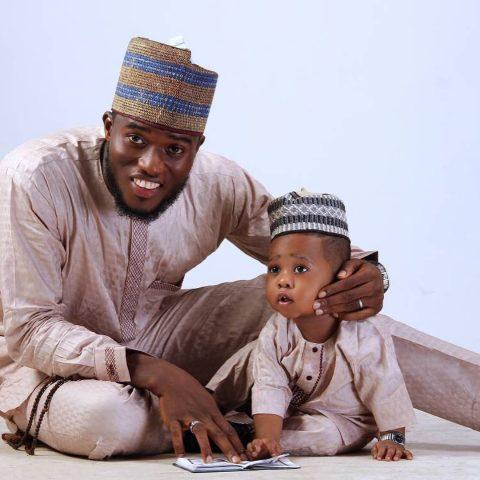 Lollybpy and son, Yasir