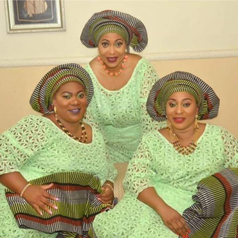 L-R Adebimpe Adesola(middle) and Folashade