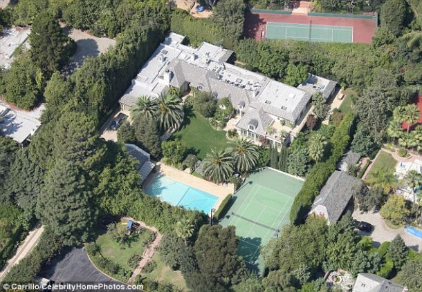 beyonce and Jzay's house