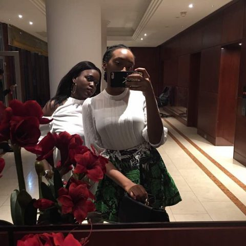 Olamide and sister