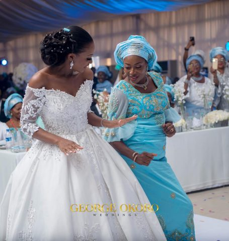Powede dancing with her mum