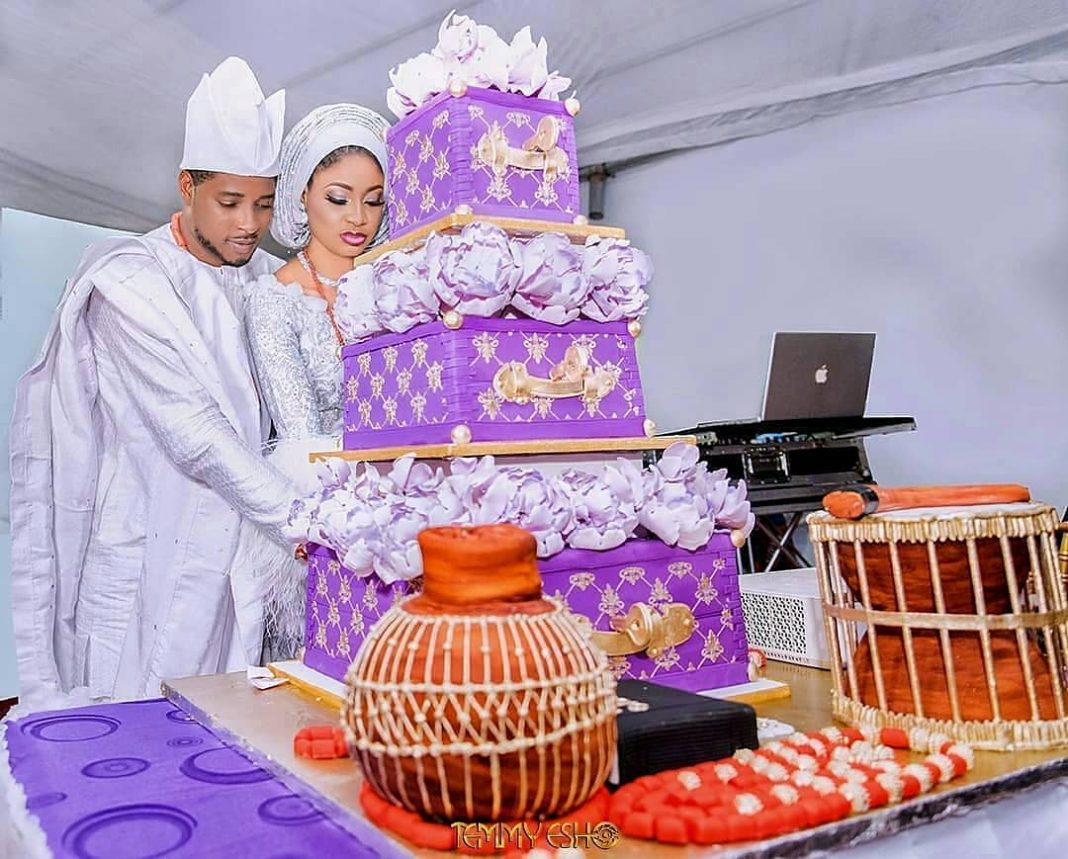 #TEAK2018 Photos from Alaafin of Oyo's daughter Princess Rukayat Adeteju Adeyemi's royal wedding